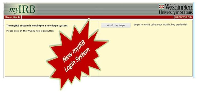 New myIRB Login System smaller 12.55 perfect size